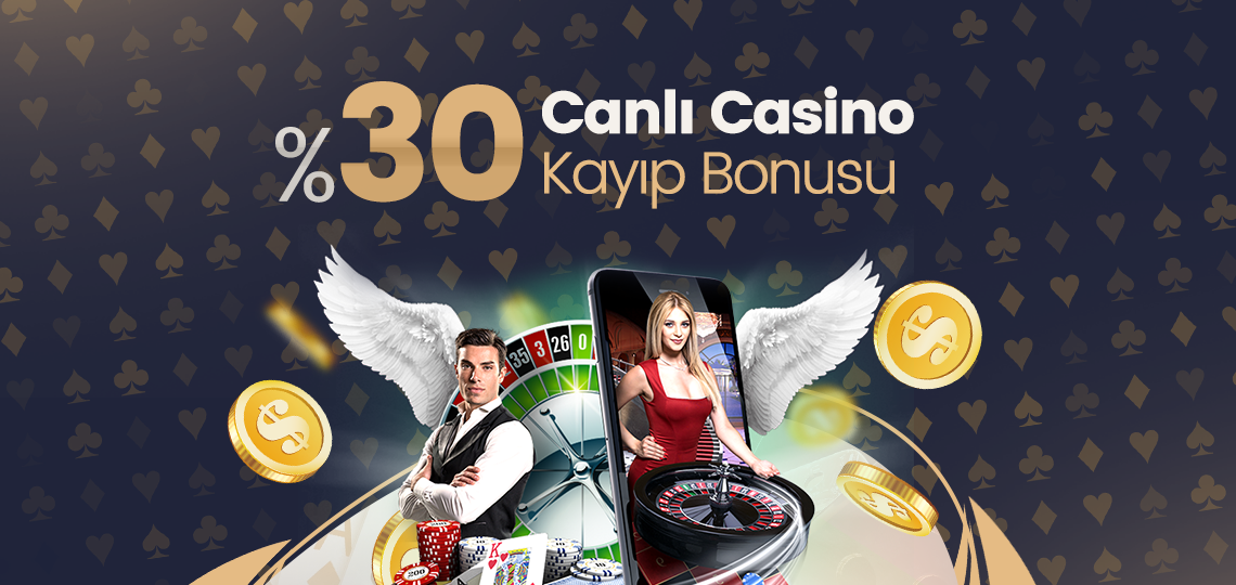 Photo of %30'a varan Anlık Canlı Casino Kayıp Bonusu (Tüm Yatırım Metodlarına)
