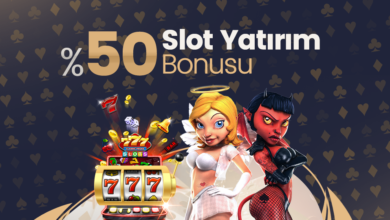 Photo of %50 Slot Yatırım Bonusu (Tüm Yatırım Metodlarına)