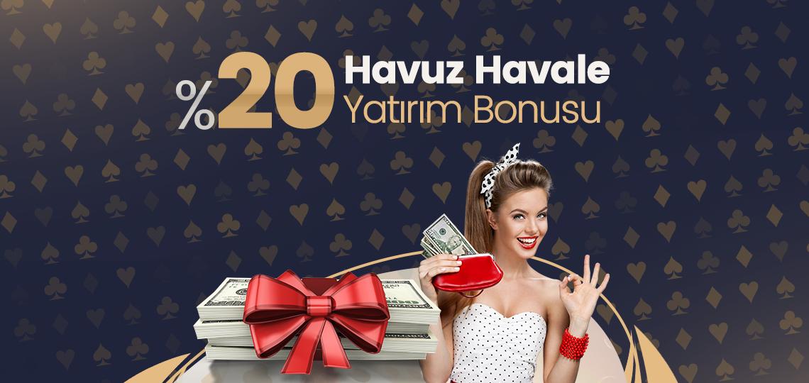 Photo of %20 Havuz Havale Yatırım Bonusu