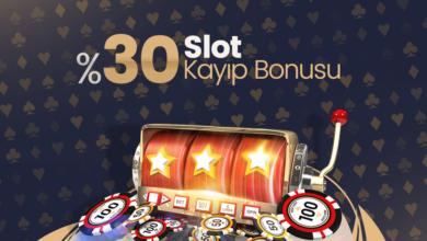 Photo of %30 Anlık Slot Kayıp Bonusu (Tüm Yatırım Metodlarına)