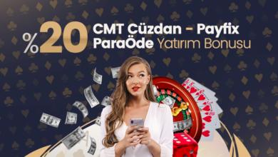 Photo of %20 CMT Cüzdan-Payfix-Paraöde Yatırım Bonusu